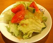 幕張本郷・イタリア食堂 キャプテンズクックの真夜中のスパゲティ(ランチ) サラダ
