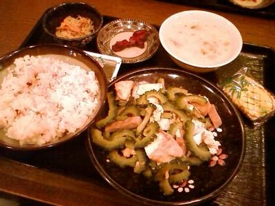 【ランチ】銀座・沖縄料理 ちゃんぷるぅ家/ゴーヤーチャンプルー定食