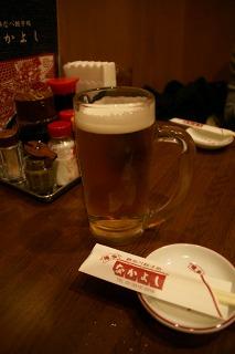 南阿佐ヶ谷 『鉄なべ餃子処 なかよし』で生ビール♪