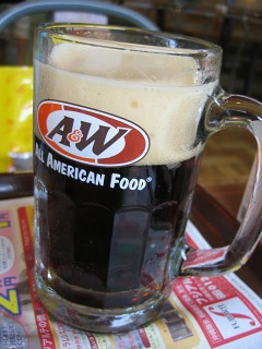 A&Wのルートビア(ROOT BEER)