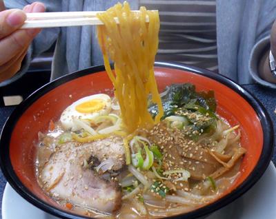 【ランチ】稲毛海岸・麺屋 がむしゃら/こく味噌らーめん