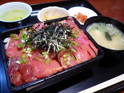 銀座一丁目・日本料理 岩戸(/まぐろ重(大盛)