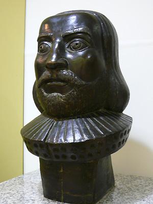 「八重洲(やえす)」の語源、オランダ人「ヤン・ヨーステン」像(八重洲地下街)