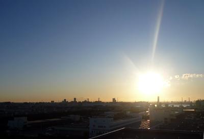 2010年の初日の出in千葉市