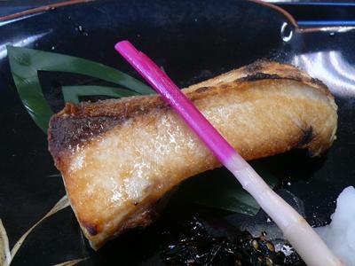 【ランチ】千葉市中央卸売市場・和食処 さくら/鰆の塩焼きはちょっと小ぶりだけど脂がのってて旨い!