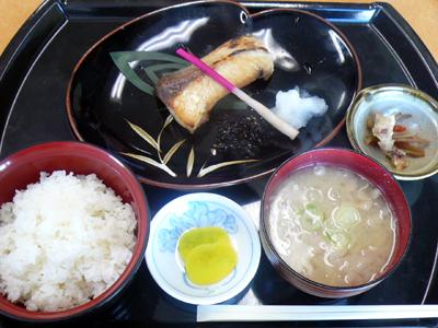 【ランチ】千葉市中央卸売市場・和食処 さくら/鰆の塩焼き定食