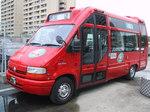 大阪市営バスのルノー赤バス