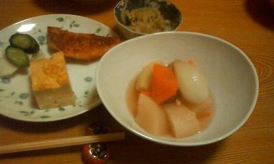 京橋「柿の木」日替わり定食