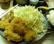 【ランチ】若鶏の一口かつ定食/有楽町・季節料理 西田