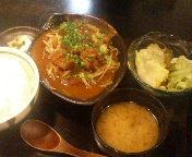 京橋 東京バルバリ 和牛スジ煮込み定食