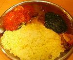 千葉・稲毛 カレーレストラン シバのサービスターリ