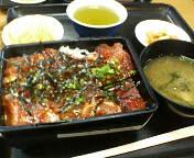 銀座1丁目・日本料理  岩戸のまぐろ重