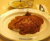 丸の内TOKIA・INDIAN CURRY(インデアンカレー) インデアンカレー レギュラーとピクルス大盛り