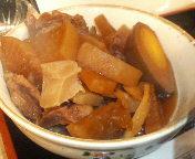 日本橋 お多幸本店 お多幸特製 とうめし定食の「牛すじ煮込み」
