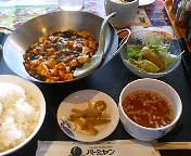 横浜 新子安・バーミヤン 新子安店のマーボー豆腐ランチ(辛口・本格四川)