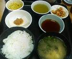 銀座1丁目・日本料理 岩戸のいわし天ぷら定食