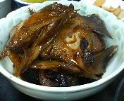 銀座1丁目 日本料理 岩戸の荒煮定食