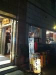 新橋・立ち飲み 竜馬 店舗の入口