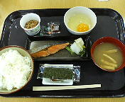東名中井PA下り朝定食
