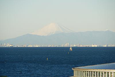 2010年1月1日 朝の富士山@千葉市