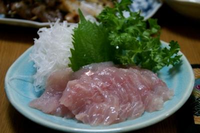 金目鯛のお刺身