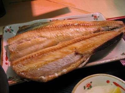 築地・鈴木水産の焼き魚定食