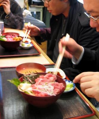 築地・鈴木水産の丼モノ