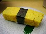 渋谷・廻る 天下寿司の玉(玉子) 1皿 130円