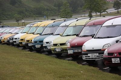 2008 第7回 東京ドイツ村オフ レポート 参加車勢揃い!