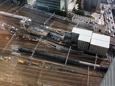 サヨナラ ブルートレイン『富士・はやぶさ』号(09年03月13日金曜日、東京駅に入る上り列車)