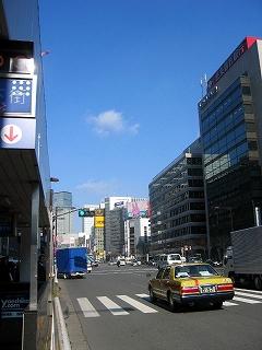 東京駅八重洲口外堀通り