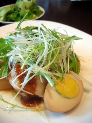 【ランチ】蒸し豚とふろふき大根の柚子味噌ソース/丸ノ内・P.C.M