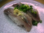 【ランチ】渋谷・廻る 天下寿司 渋谷東口店/いわし