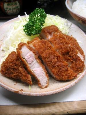 【ランチ】有楽町・とんかつ繁/ロースカツ定食