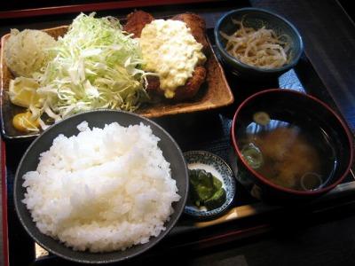 【ランチ】京橋・花わさび/鮪カツ定食