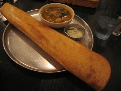 【ランチ】八重洲・南インド料理 ダバ インディア/ドーサランチ