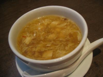 青海・青龍門のランチスープ