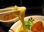 【ランチ】渋谷・麺屋武蔵 武骨外伝/温玉肉餡からつけそば(中盛)