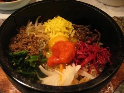 【ランチ】石焼ビビンバ/有楽町・和牛焼肉 漢喜苑