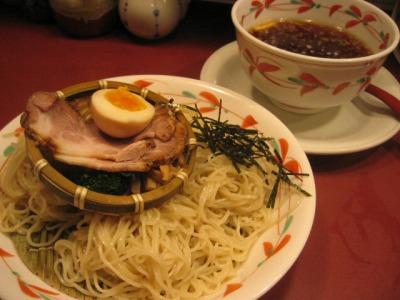 湯島・らーめん天神下 大喜/つけそば(細麺・醤油)