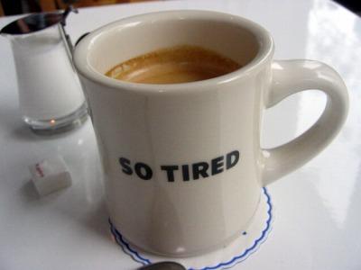 SO TIREDのランチコーヒー