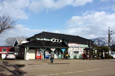 JR城端線 城端駅
