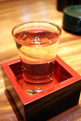まわる寿し もりもり寿し 金沢駅前店 加賀鷲 極寒純米(辛口)