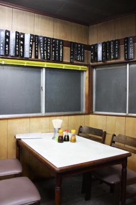 野田・やよい食堂 店内は「The 昭和の定食屋」