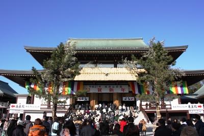 【ランチ】成田・麺屋 青山 ・・・のあとに初詣へ行った成田山新勝寺