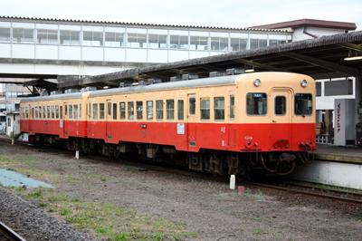 小湊鐵道キハ200型(五井駅にて)