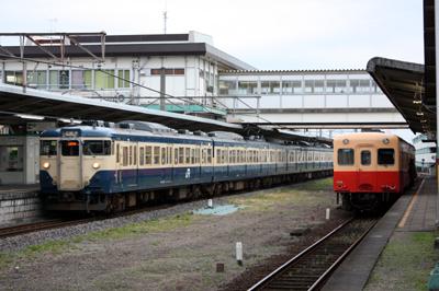 小湊鐵道 キハ200型とJR113系1000'番代