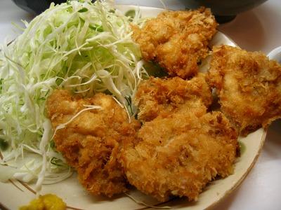 有楽町・季節料理 西田の若鶏の一口カツ定食