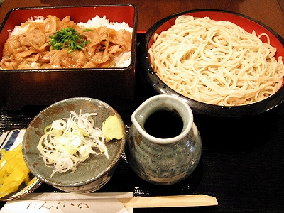 【ランチ】生姜焼き定食/京橋・素材食市場 だんさいか