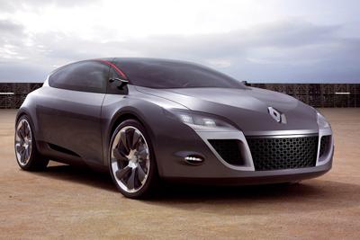 新型「ルノー メガーヌ」!? 「Megane Coupe Concept(メガーヌ クーペ コンセプト)」 エクステリア